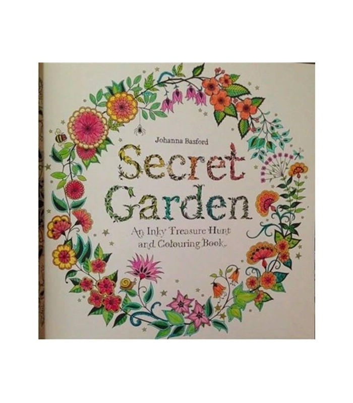 Secret Garden Colouring Book